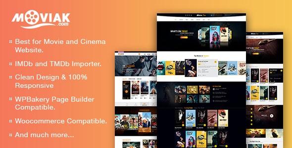 AmyMovie - Movie and Cinema WordPress Theme - Film & TV Entertainment