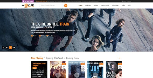 Imdb and Movie Reviews WordPress Themes from ThemeForest