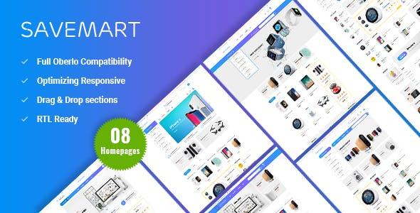 Savemart - Market & Electronics Shopify Theme