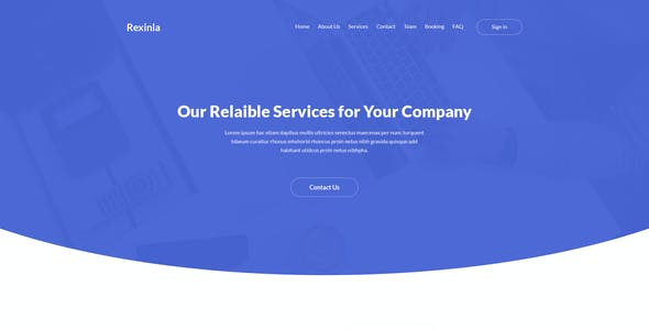 Rexinla - Multi Purpose PSD Template