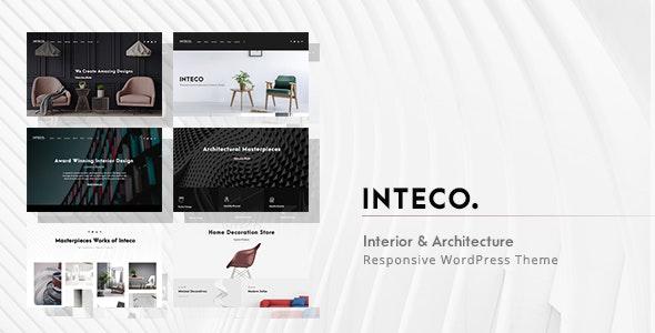 Inteco - Interior Design & Architecture WordPress - Portfolio Creative