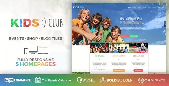 Kids Club - Kindergarten, School & Camp - Children Retail