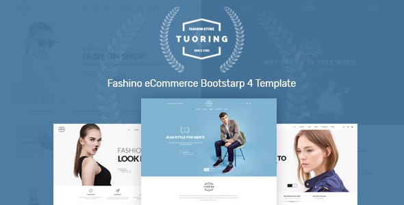 Tuoring – Fashion Store HTML Template - Fashion Retail