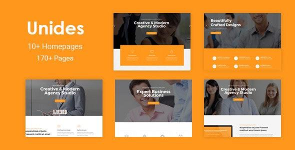 Unides - Responsive MultiPurpose Drupal 8.7 Theme - Corporate Drupal