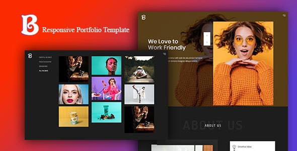 Beloon - Responsive Portfolio Template - Portfolio Creative