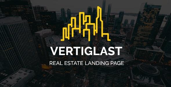 Vertiglast - Real Estate Landing Page - Marketing Corporate
