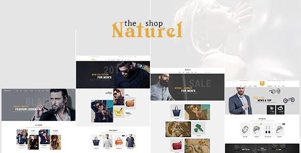 Naturel - Responsive Magento2 Theme