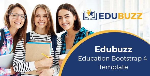 Edubuzz - Education HTML Template - Charity Nonprofit