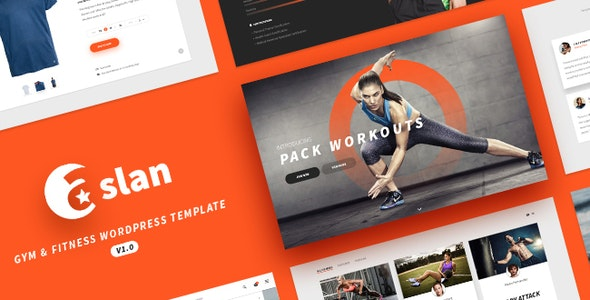 Aslan - Modern Gym & Fitness Responsive WordPress Theme - Creative WordPress