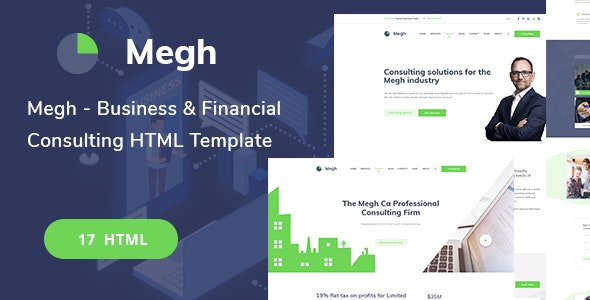 Megh-Business & Consulting solutions HTML Template - Business Corporate