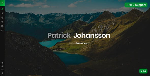 Patrick - Personal CV Resume Template