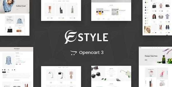 F-Style Multipurpose OpenCart 3 Theme - Fashion OpenCart