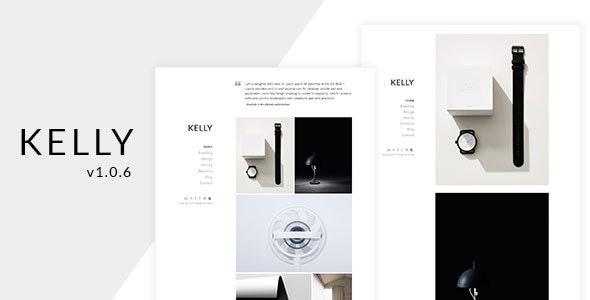 Kelly - Minimal Portfolio & Photography WordPress Theme - Portfolio Creative