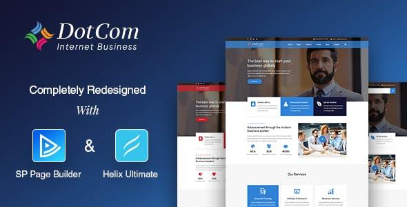 DotCom - Responsive Joomla Corporate Template