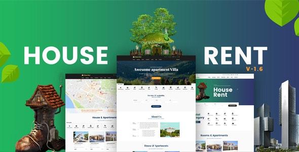HouseRent - Multi Concept Rental WordPress Theme - Real Estate WordPress
