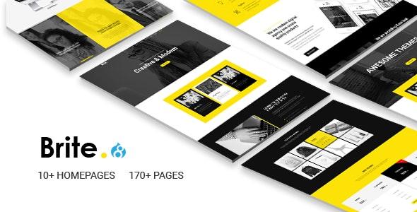 Brite | Responsive Multi-Purpose Business Drupal 8.7 Theme - Business Corporate