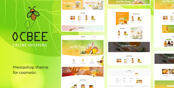 Bos Ocbee - Beauty & Cosmetics Prestashop 1.7 Theme - Health & Beauty PrestaShop