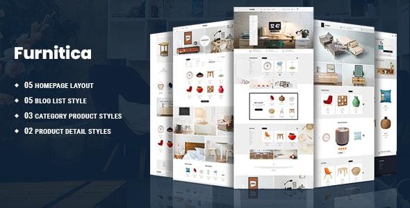 Furnitica - Minimalist Furniture HTML Template - Shopping Retail