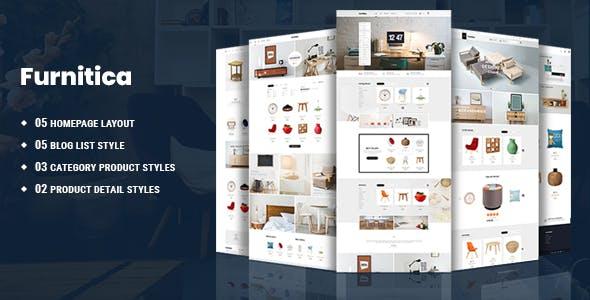 Furnitica - Minimalist Furniture HTML Template