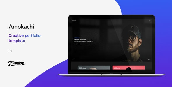 Amokachi - Creative Portfolio HTML Template - Portfolio Creative