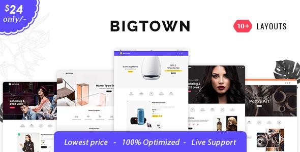 Bigtown - Opencart 3 Multi-Purpose Responsive Theme - Shopping OpenCart