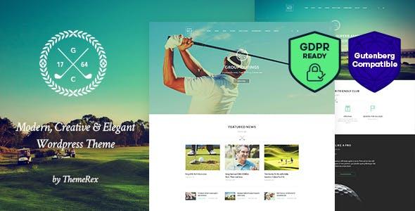 N7 | Golf Club, Sports & Events WordPress Theme