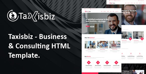 Taxisbiz – Consulting & Business HTML Template - Business Corporate
