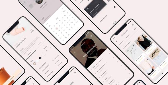 L'euphorie Mobile UI Kit