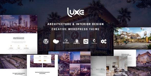 Luxe - Architecture - Portfolio Creative
