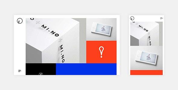 Flagrant - A Creative Portfolio Template - Creative Site Templates