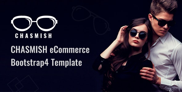 Chasmish - Glasses Store HTML Template - Fashion Retail