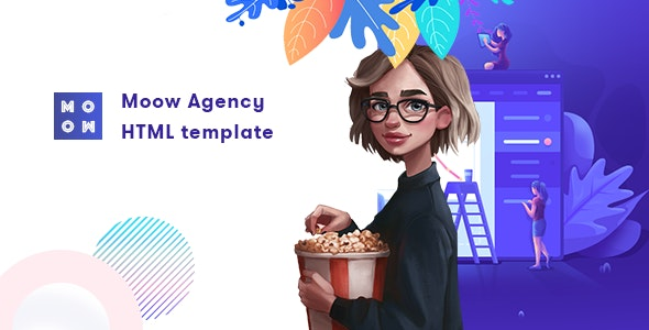 Moow - Agency HTML Template - Creative Site Templates