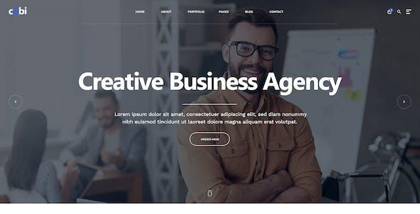 Cobi - Creative Portfolio PSD Template
