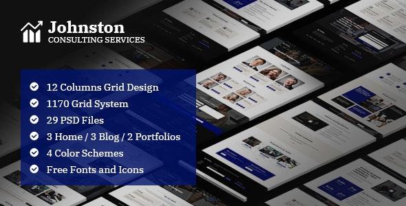 Johnston Business & Corporate Template - Business Corporate