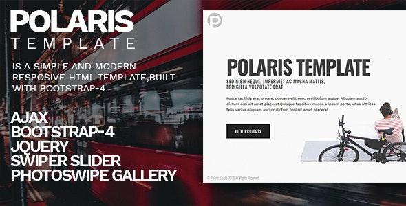 Polaris - Personal Portfolio Template - Personal Site Templates