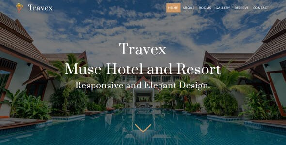 Download Travex _ Hotel and Resort Muse Template
