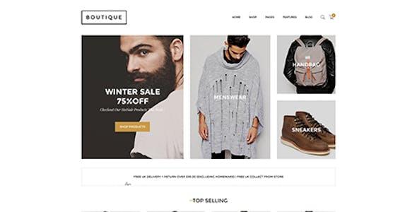 Boutique - Responsive Shopify Theme