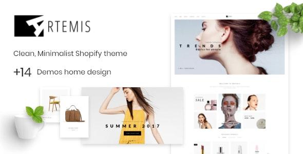 Shopify Theme Minimal  - Artemis - Fashion Shopify