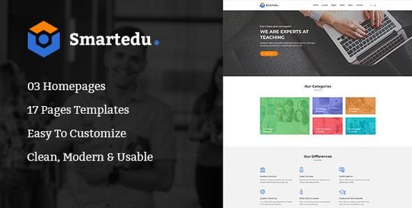 SmartEdu | Education & Courses PSD Template - Miscellaneous Photoshop
