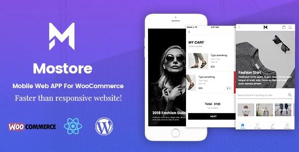 Mostore - WooCommerce Mobile Progressive Web App