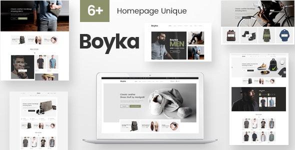 Boyka – Fashion eCommerce HTML Template - Fashion Retail