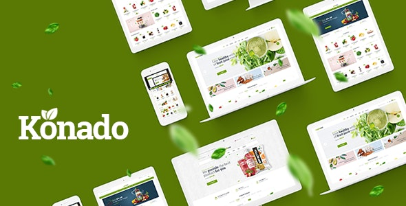 Konado - Organic Theme for WooCommerce WordPress - WooCommerce eCommerce
