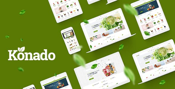 Konado - Organic Theme for WooCommerce WordPress by roadthemes