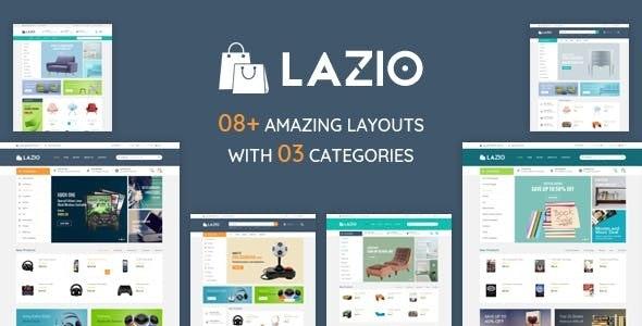 Lazio – Furniture  Book Shop HTML Template - Shopping Retail