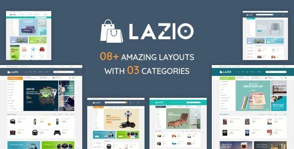Lazio – Furniture  Book Shop HTML Template