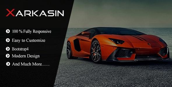Xarkasin - Car Dealer Template - Business Corporate