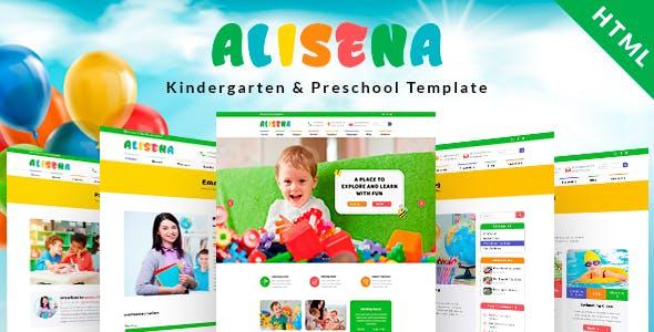 Alisena - Kindergarten & Preschool HTML Template