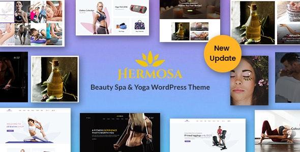 Hermosa - Health Beauty & Yoga WordPress Theme - Health & Beauty Retail
