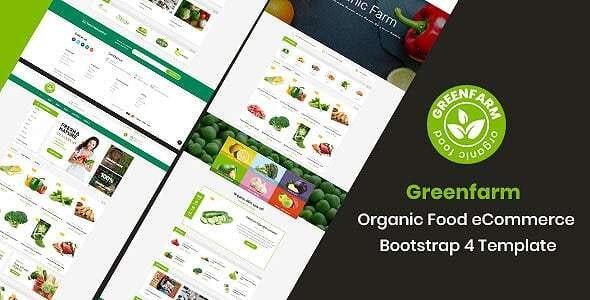 Greenfarm - Organic Food Shop HTML Template - Food Retail