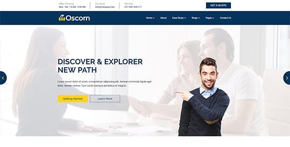 Oscorn - Business Finance HTML Template